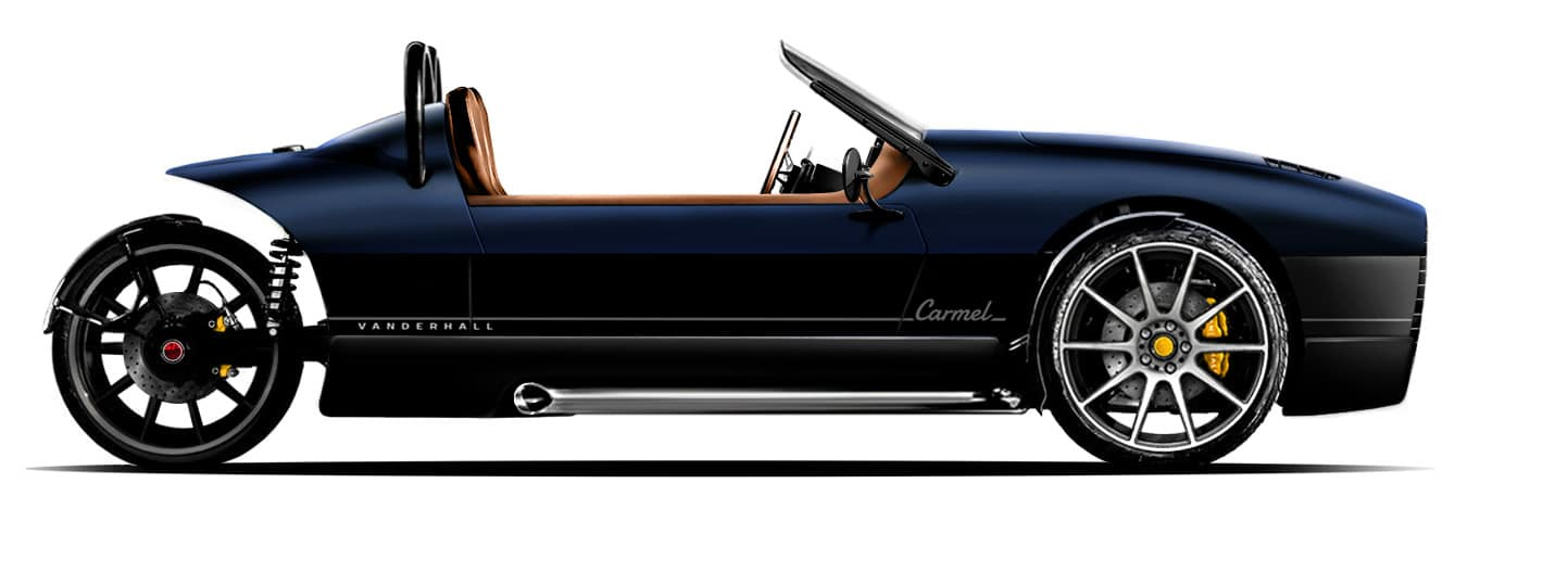 vanderhall-side-view-models-CARMEL-pozzie-blue-with-black-rocker